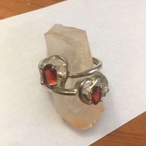 Jewelry - Two Sterling Silver heart rings